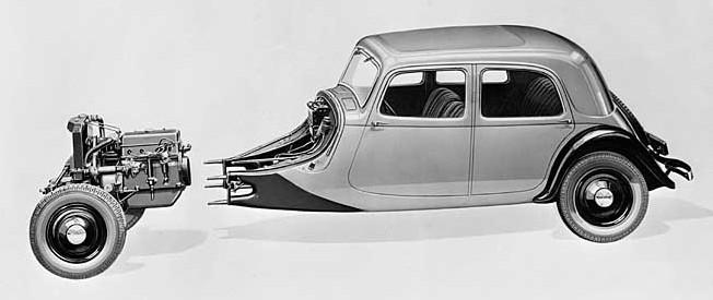 1934. g. Traction 7A skice